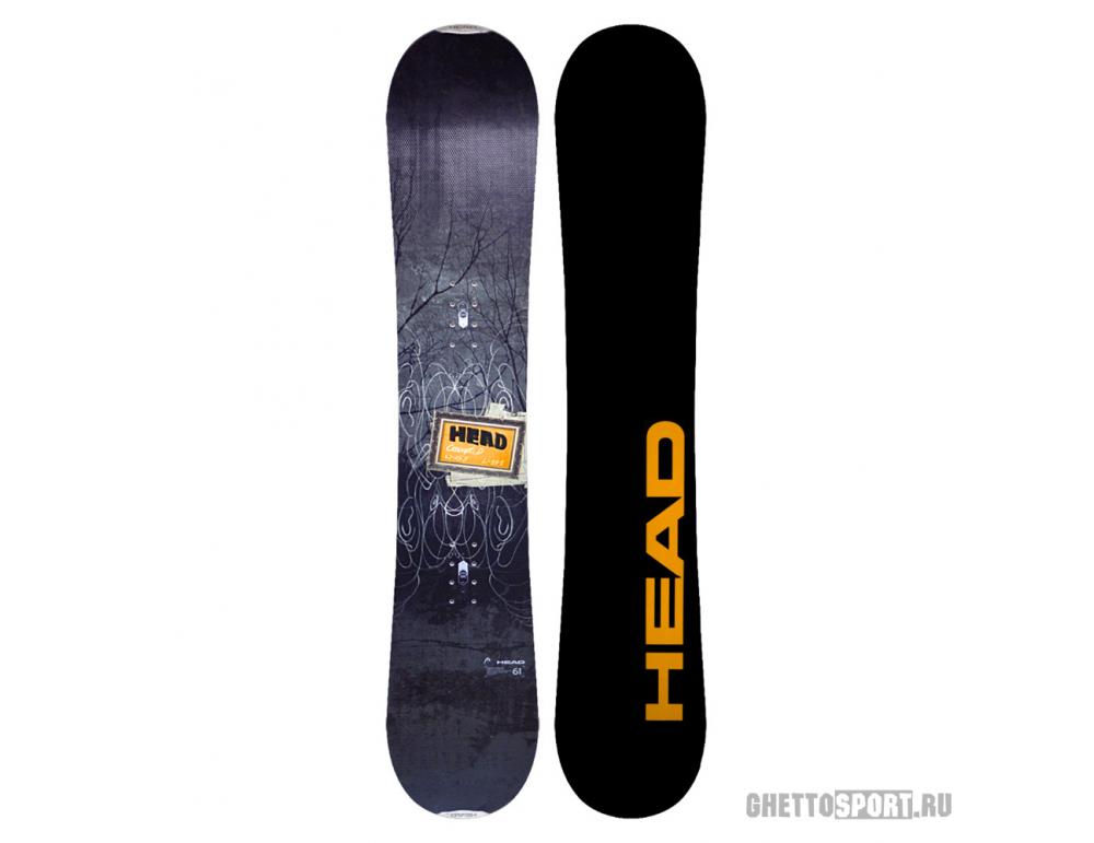 Сноуборд Head Concept D 156 Black/Orange