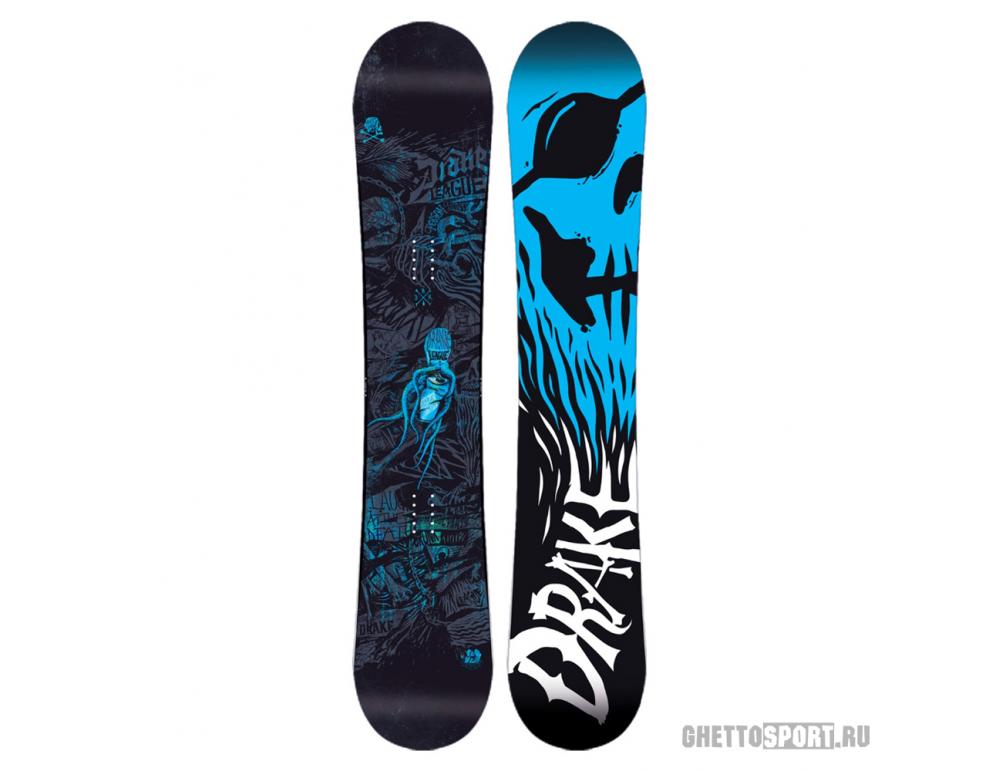 Сноуборд Drake League 155 Black/Blue