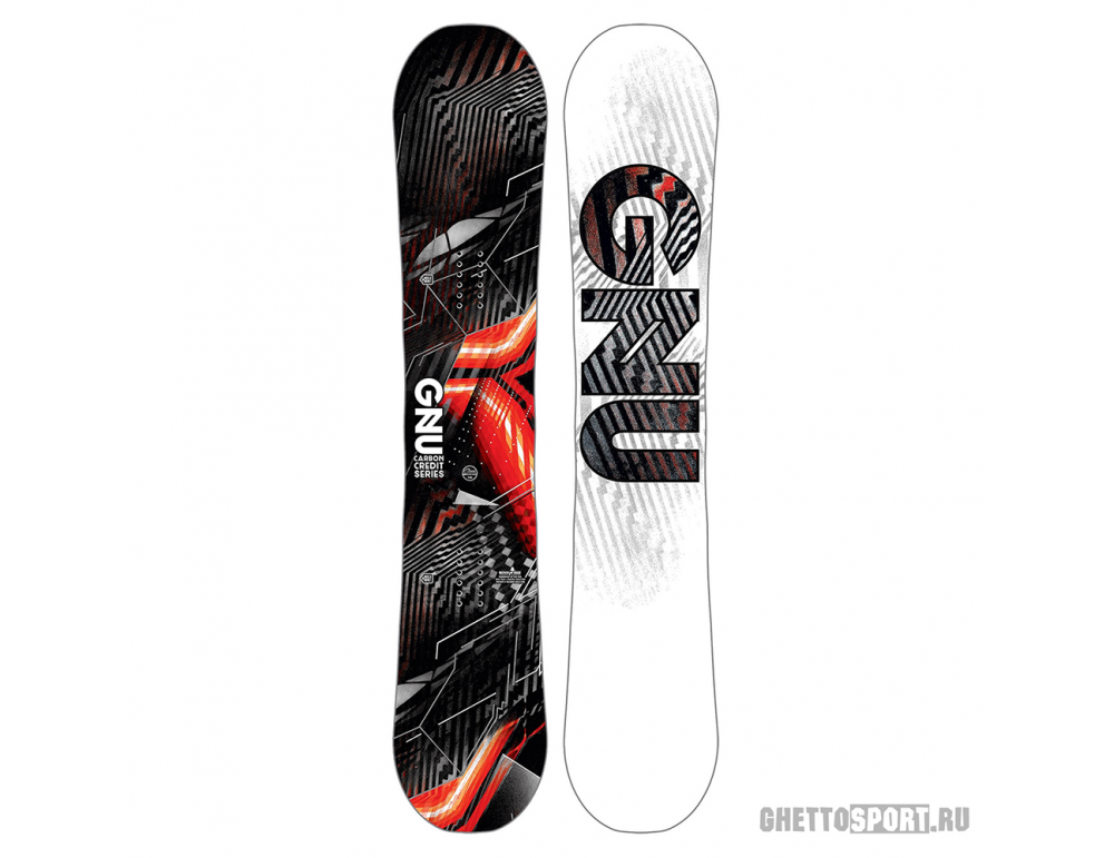 Сноуборд Gnu 2019 Asym Carbon Credit Btx