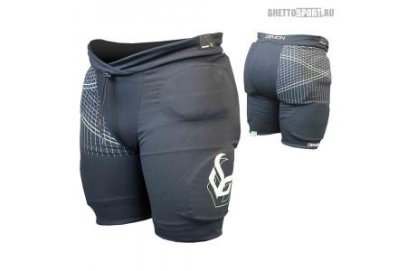 Защитные шорты Demon 2019 Flex-Force Pro Short Black M DS1300b