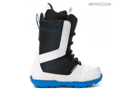 Ботинки Burton 2014 Invader White/Black/Blue 11,5