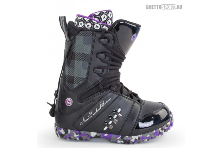 Ботинки Atom 2013 Bad Boy Black/Purple