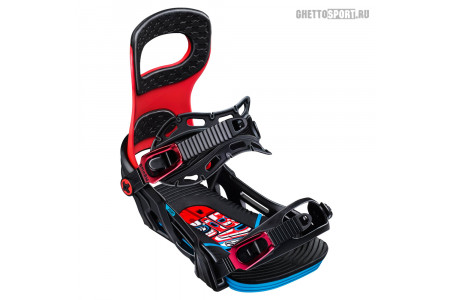 Крепления Bent Metal 2020 Joint Black/Red