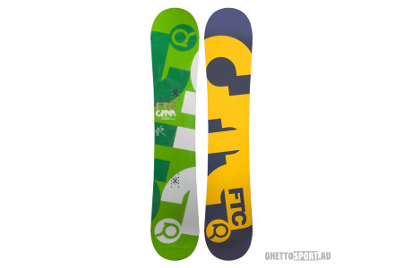 Сноуборд Fanatic 2012 FTC Lite Green 151