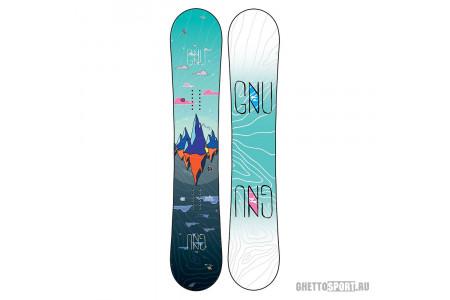 Сноуборд Gnu 2020 Asym Velvet C2