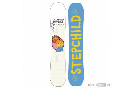Сноуборд Step Child 2018 Dirtbag 150 White Ass