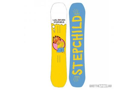 Сноуборд Step Child 2018 Dirtbag 154 Yellow Ass