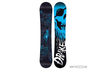 Сноуборд Drake 2016 League Black/Blue 155