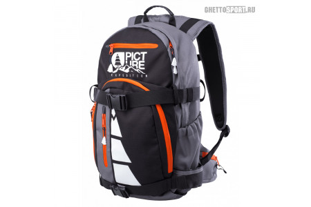Рюкзак Picture Organic 2017 Rescue Bag C Black/Grey/Orange 26