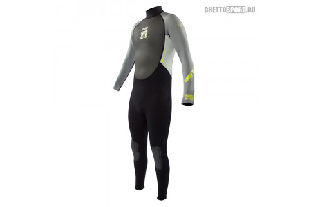 Гидрокостюм Body Glove 2015 Pro 3 Fullsuit 3x2 Grey/Lime S