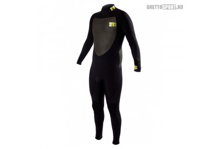 Гидрокостюм Body Glove 2015 Siroko Bk/Zip Fullsuit 4x3 Black
