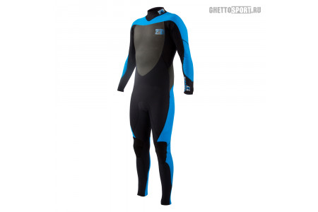 Гидрокостюм Body Glove 2015 Siroko Bk/Zip Fullsuit 4x3 Blue M