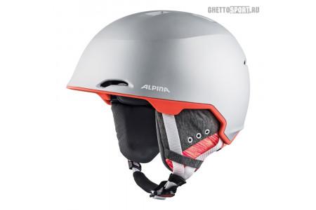 Шлем Alpina 2019 Maroi Silver-Flamingo Matt 54-57
