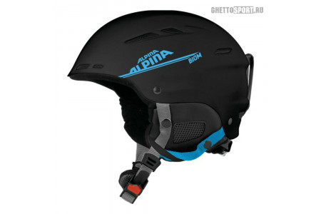 Шлем Alpina 2020 Biom Black/Cyan Mat 54-58