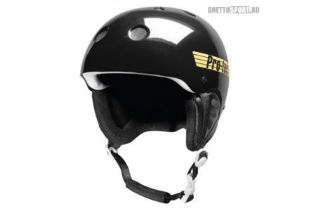 Шлем Pro-Tec 2013 Classic Snow Gloss Black Retro XL