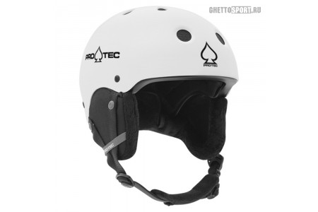 Шлем Pro-Tec 2019 Classic Certified Snow Matte White S