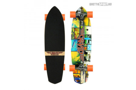 Лонгборд Gravity 2015 Classic Cruiser Moonlight 36""