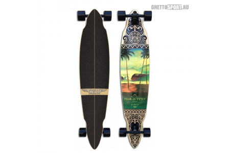 Лонгборд Gravity 2017 Pintail Tres Palmas 45""
