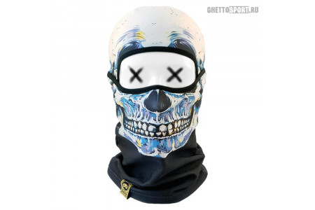 Балаклава Primo 2020 Alpha Skull Blue
