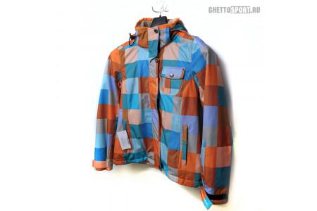 Куртка Exxtasy 2015 Check Yellow/Orange RLZ XS/S