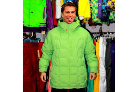Куртка Quicksilver 2012 Brad Pitt Green/Yellow RLZ M