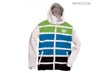 Куртка 686 2014 Manual Antic White/Green/Blue M