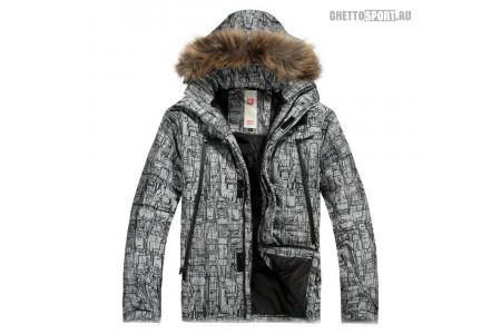 Куртка Burton 2015 Down Jacket Grey/Black L