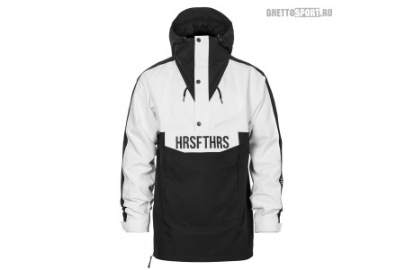 Анорак Horsefeathers 2020 Spencer Atrip Jacket Black/White