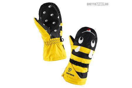 Варежки Luckyboo 2020 Small Fingers Yellow XS