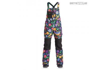 Полукомбинезон Airblaster 2020 Hot Bib Flowers Black
