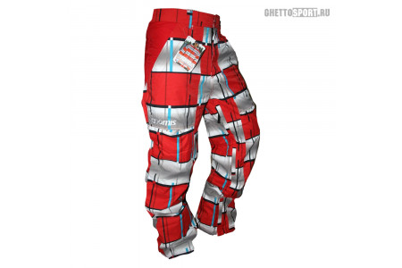 Штаны Nomis 2013 Shell White/Red