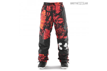 Штаны Thirty Two 2020 Sweeper Pant Red/Black