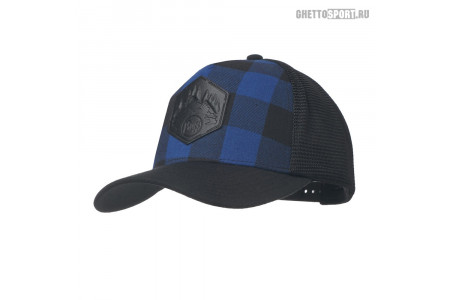 Кепка Buff 2019 Trucker Cap Plaid Cape Blue