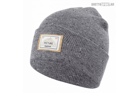 Шапка Picture Organic 2019 Uncle Beanie B Grey
