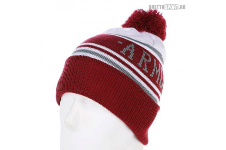 Шапка Armour 2014 Limited Beanies Red/White