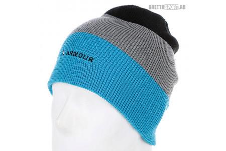 Шапка Armour 2014 Stripe Beanie Blue/Grey/Black