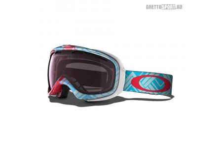Маска Oakley 2015 Elevate Braided Blue/Red W/Vr50 Pink Iridium