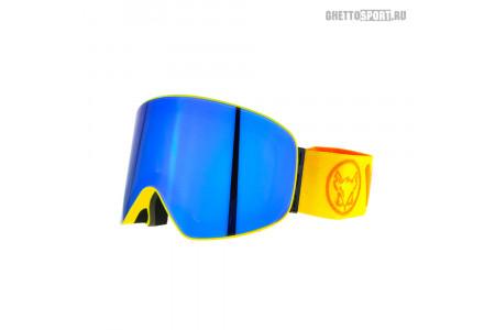 Маска Vizzo 2019 Affect Yellow Blue