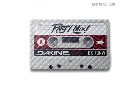 Наклейка на сноуборд Dakine 2018 Cassette Stomp White