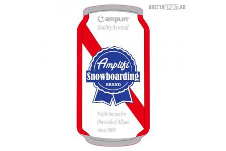 Наклейка на сноуборд Amplifi 2019 Can Stomp Spezial Red