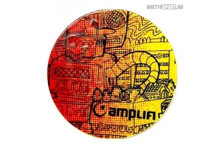 Наклейка на сноуборд Amplifi 2019 Round Stomp Robot
