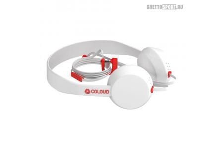 Наушники Coloud 2015 Knock Blocks White/Red