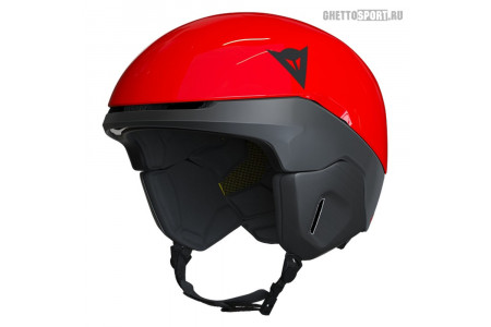 Шлем Dainese 2021 Nucleo High-Risk-Red/Stretch-Limo