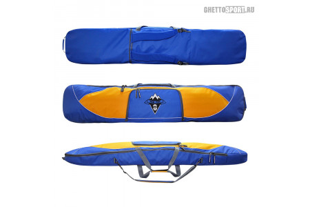 Чехол для сноуборда Nix-Ter 2020 Stronger Blue/Yellow