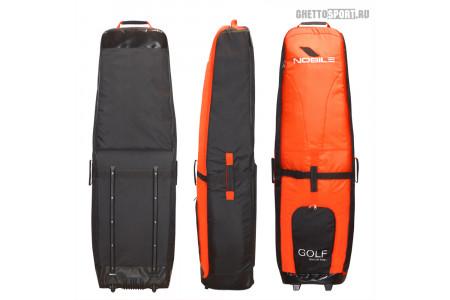 Чехол с колесами Nobile 2020 Golf Bag Black/Orange