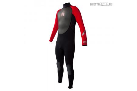 Гидрокостюм Body Glove 2015 Pro 3 Fullsuit 3x2 Black/Red M