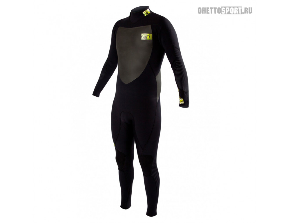 Гидрокостюм Body Glove 2015 Siroko Bk/Zip Fullsuit 4x3 Black