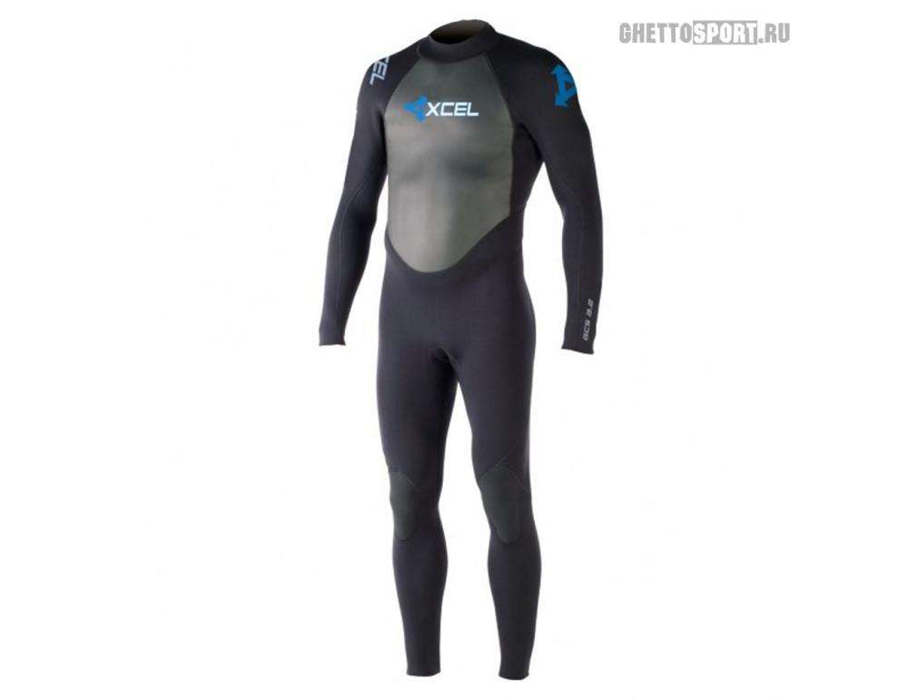 Гидрокостюм Xcel 2015 Gcs L/S Fullsuit 3x2 Black L