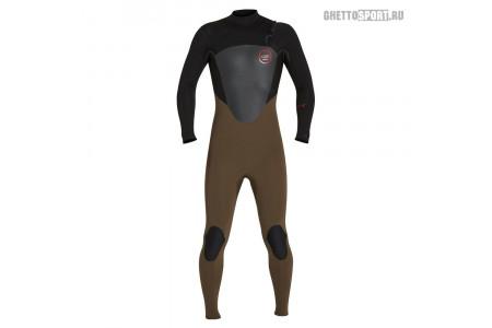 Гидрокостюм Xcel 2017 Axis X X2 Fullsuit - S-Seal Sleeves 4x3 Dbb Dark Beech/Black LT