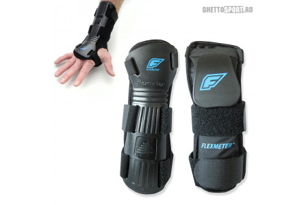Защита запястья Demon 2019 Flexmeter Wrist Guard Double D3O Black FL292b